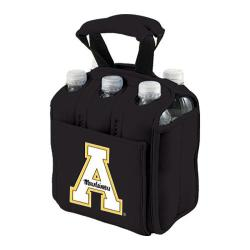 Picnic Time Six Pack Appalachian State Mountaineers Black