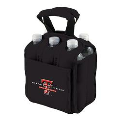 Picnic Time Six Pack Texas Tech Red Raiders Black