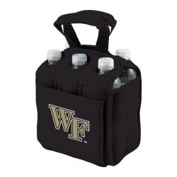 Picnic Time Six Pack Wake Forest Demon Deacons Black