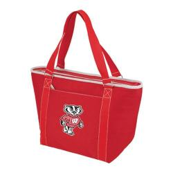 Picnic Time Topanga Wisconsin Badgers Print Red