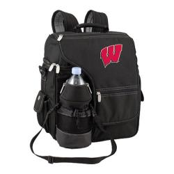 Picnic Time Turismo Wisconsin Badgers Embroidered Black