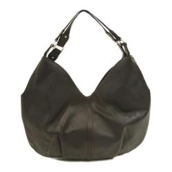 Women's Piel Leather Large Hobo 2764 Chocolate Leather