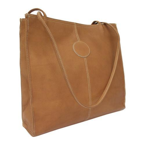 Women s Piel Leather Medium Market Bag 2344 Saddle Leather - Free ... 5e7d0f503d