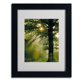 Kathie McCurdy 'Magical Tree' Framed Matted Art