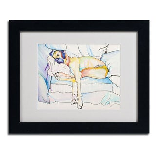 Pat Saunders 'Sleeping Beauty' Framed Matted Art
