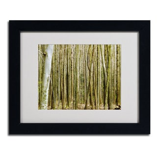 Kathie McCurdy 'Forest Floor Spring' Framed Matted Art