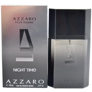 Loris Azzaro Pour Homme Night Time Men's 3.4-ounce Eau de Toilette Spray