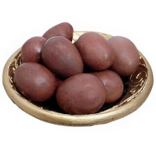 Handmade Set of 12 Shona Decorative Serpentine Stone Eggs (Zimbabwe) - N/A
