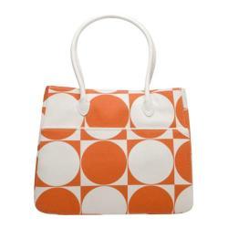 Women's Soapbox Bags Josie Tote Orange Circle