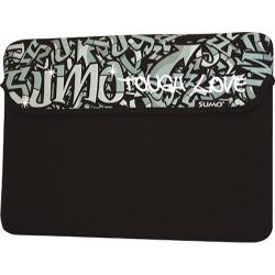 Sumo Graffiti Sleeve- Tablet/8.9in Black
