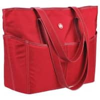 Women's Sumo Large Tote Red/White