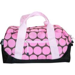 Wildkin Big Dots Pink Kids' Duffel Bag