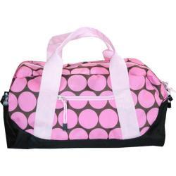 Wildkin Big Dots Pink Kids' Duffel Bag