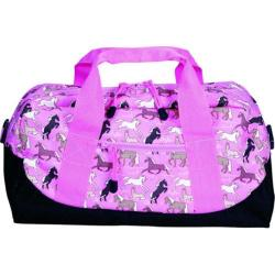 Wildkin Horses in Pink Kids' Duffel Bag