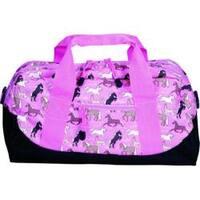 Wildkin Horses in Pink Kids' Duffel Bag