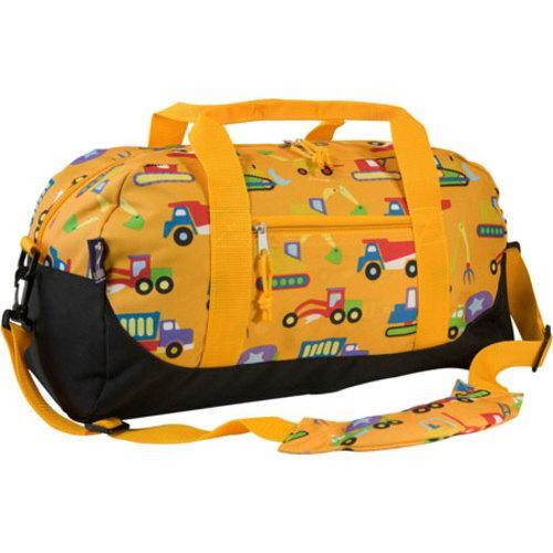 Wildkin Under Construction Kids X27 Duffel Bag