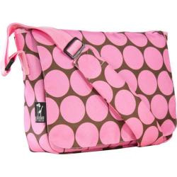 Wildkin Big Dots Pink Kickstart Messenger Bag