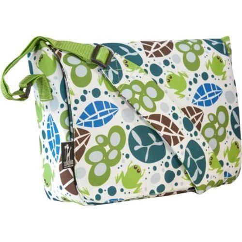 Wildkin Kickstart Messenger Bag Lily Frogs
