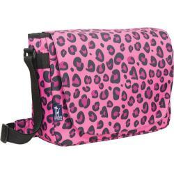 Wildkin Pink Leopard 17-inch Laptop Messenger Bag