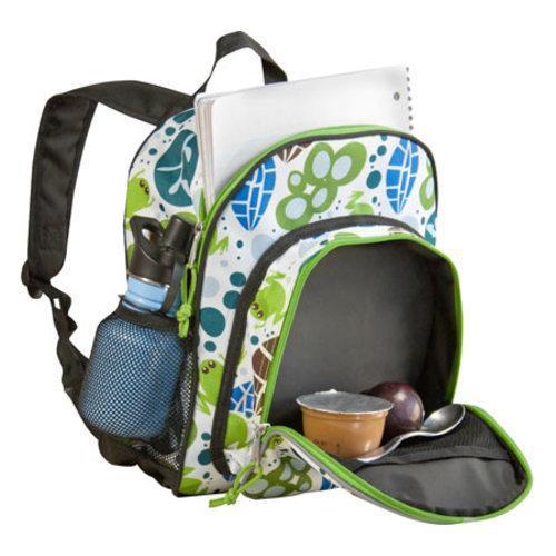Wildkin Lily Frogs Pack 'n Snack Backpack