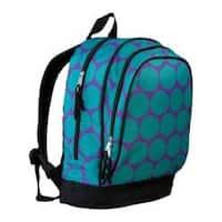 Wildkin Big Dot Aqua 15 Inch Backpack