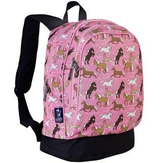 Wildkin Horses in Pink 15 Inch Backpack