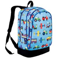 Olive Kids Trains, Planes & Trucks 15 Inch Backpack