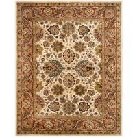 "Safavieh Handmade Persian Legend Ivory/ Rust Wool Rug - 8'-3"" x 11'"