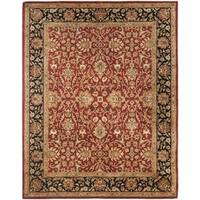 Safavieh Handmade Persian Legend Rust/ Black Wool Rug - 9'6 x 13'6