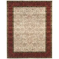 Transitional Safavieh Handmade Persian Legend Ivory/Rust Wool Rug - 8'3' x 11'