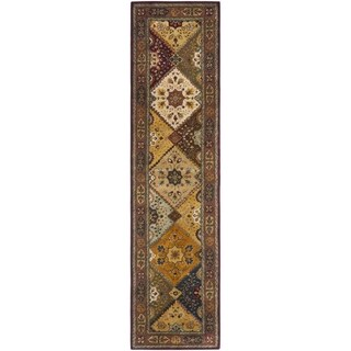 Safavieh Handmade Persian Legend Red/ Rust Wool Rug (2'6 x 8')