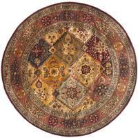 Safavieh Handmade Persian Legend Red/ Rust Wool Rug - 8' Round