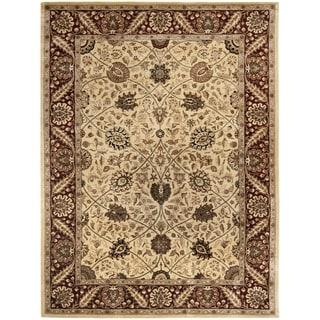 Safavieh Handmade Persian Legend Ivory/ Red Wool Rug (8' x 10')