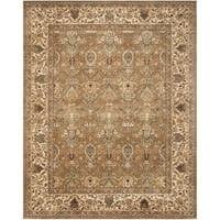 Safavieh Handmade Persian Legend Light Green/ Beige Wool Rug - 8'3 x 11'