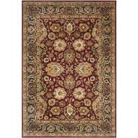 Safavieh Handmade Persian Legend Rust/ Navy Wool Rug - 6' x 9'