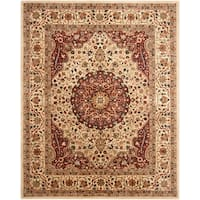 "Safavieh Handmade Persian Legend Ivory/ Rust Wool Rug - 7'-6"" x 9'-6"""
