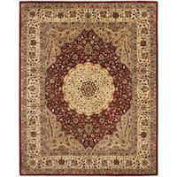 "Safavieh Handmade Cotton-Backed Persian Legend Ivory/Rust Wool Rug - 8'-3"" X 11'"