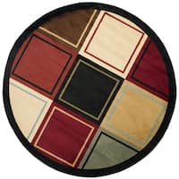 Safavieh Porcello Modern Colorblock Multicolored Rug - 5' x 5' round