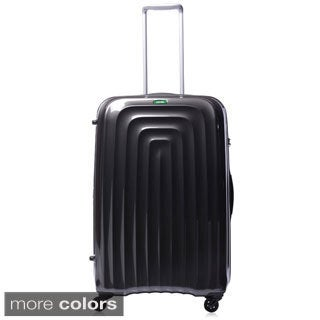 Lojel Wave Polycarbonate 26.5-inch Medium Upright Spinner Suitcase