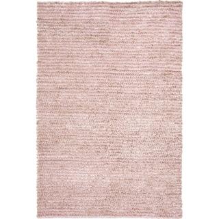 Safavieh Handmade Aspen Shag Pink Wool Area Rug (9' x 12')