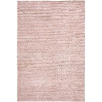 Safavieh Handmade Aspen Shag Pink Wool Area Rug - 9' x 12'