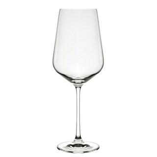 Hong Kong Hip Burgundy Wine Glasses (Set of 6)