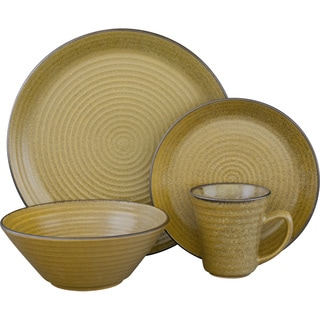 Sango Comet Lime 16-piece Dinnerware Set