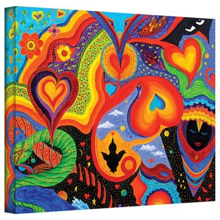 Marina Petro 'Hearts' Gallery-Wrapped Canvas