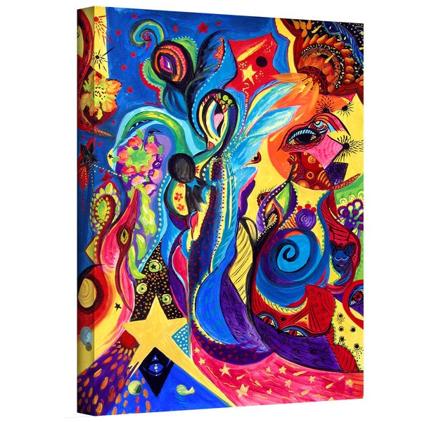 Marina Petro 'Guardian Angel' Gallery-Wrapped Canvas