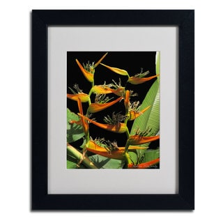 Kathie McCurdy 'Tropical Paradise' Framed Matted Art