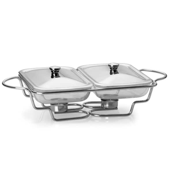 Towle Living Double Warming/ Serving Tray
