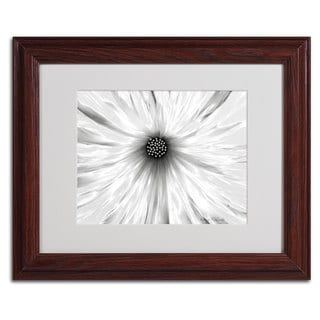 Kathie McCurdy 'White Garden' Framed Matted Art