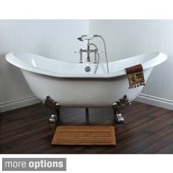 Claw Foot Tubs Shop The Best Deals for Sep 2017 Overstockcom