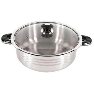 Link to Better Chef 18/10 Stainless Steel Casserole Stew Low Pot with Glass Lid Similar Items in Cookware